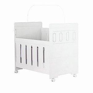 Berço mini cama céu Plus 3 em 1 Branco Planet Baby