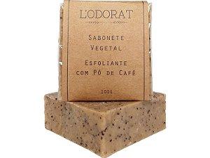 Sabonete Vegetal em Barra Esfoliante de Café 100 G