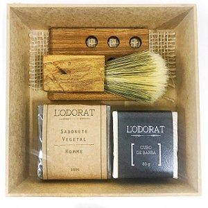 Kit Masculino Luxo Barba e Banho