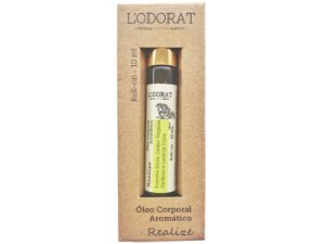 Óleo Corporal Aromático Realize Roll On - 10 mL