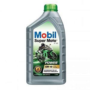 MOBIL SUPER MOTO MX 10W40 (SEMI-SINTETICO) – 1L