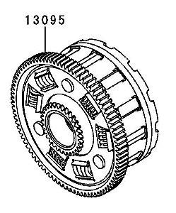CARCACA-COMP EMBREAGEM - 13095-0570