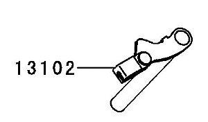 LIBERACAO EMBREAGEM COMP - 13102-0032
