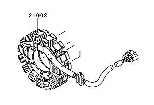 ESTATOR - 21003-0107