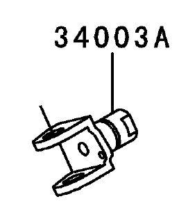 FIXADOR PEDALEIRA - 34003-1474