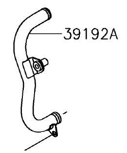 TUBO COMP AGUA - 39192-0600