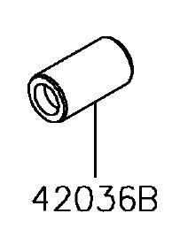 BUCHA SUSPENSAO ARM L=3 - 42036-0022
