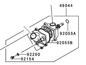 BOMBA AGUA - 49044-0008