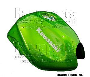 TANQUE COMBUSTIVEL VERDE METALICO Z750 2010 - 51085-5249-17P