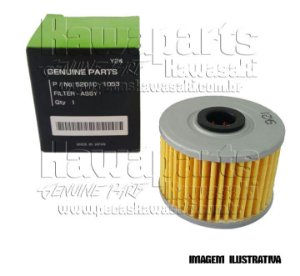 FILTRO ÓLEO D-TRACKER / KLX110 / KLX140L / KX450F /  KFX450R / KLX450R / KLX140G - 52010-1053