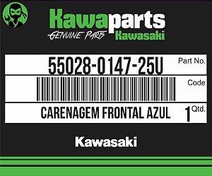 CARENAGEM FRONTAL AZUL Z750 - 55028-0147-25U