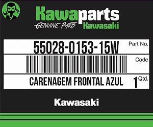 CARENAGEM FRONTAL AZUL NINJA 250R - 55028-0153-15W