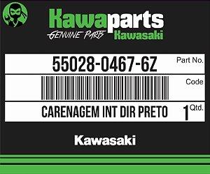 CARENAGEM INT DIR PRETO - 55028-0467-6Z