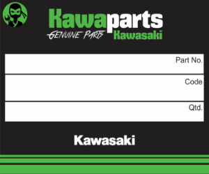 ADESIVO CARENAGEM LATER KAWASAKI ESQ - 56054-0714