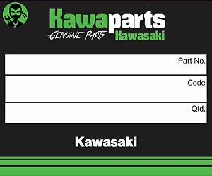 ADESIVO CARENAGEM LATER KAWASAKI ESQ - 56054-0902