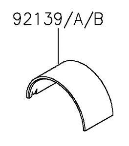 BRONZINA BIELA AZUL Z800 - 92139-1108