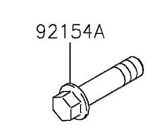 PARAFUSO FLANGE 10X41 - 92154-0845