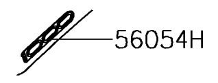 "ADESIVO RABETA ""1000"" Z1000 - 56054-2171"