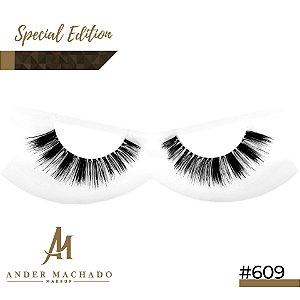 Cílios Postiços Modelo #609 Ander Machado