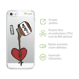 Capa para iPhone 5/5S/SE - Nutella