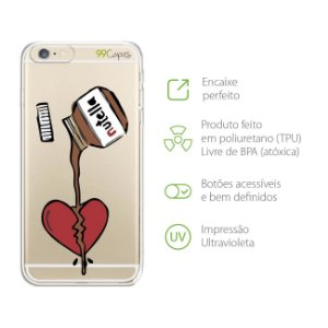 Capa para Iphone 6 Plus e 6s Plus - Nutella