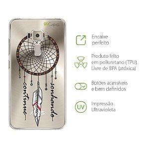 Capa para Zenfone 3 - 5.5 Polegadas - Continue Sonhando