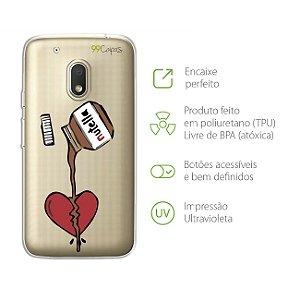 Capa para Moto G4 Play - Nutella