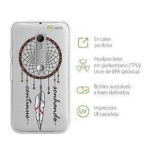 Capa Filtro dos Sonhos para Moto G3