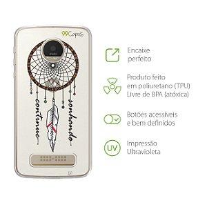 Capa Filtro dos Sonhos para Moto Z Play