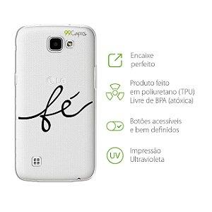 Capa Fé para LG K4