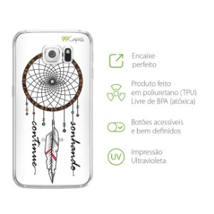 Capa Filtro dos Sonhos para Galaxy S6