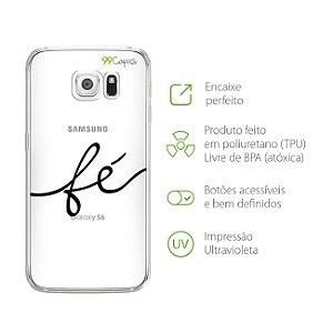 Capa Fé para Galaxy S6