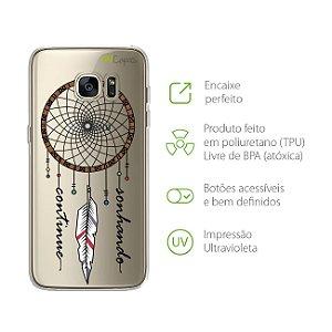 Capa para Galaxy S7 - Continue Sonhando