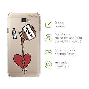 Capa Nutella para Samsung J7 PRIME
