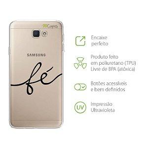 Capa Fé para Samsung J7 PRIME