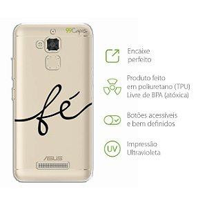 Capa para Zenfone 3 Max - 5.2 Polegadas - Fé