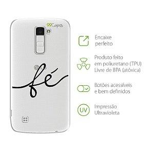 Capa Fé para LG K8