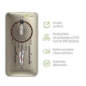 Capa para Asus Zenfone 2 - Continue Sonhando