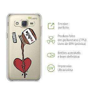 Capa Nutella para Samsung Galaxy J2 Prime