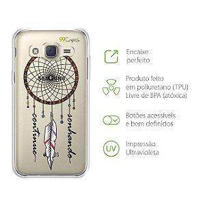 Capa Filtro dos Sonhos para Samsung Galaxy J2 Prime