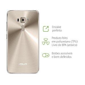 "Capa Transparente para Asus Zenfone 3 - ZE520KL - 5.2"""
