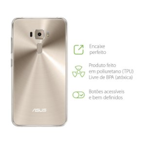 "Capa Transparente para Asus Zenfone 3 - ZE552KL - 5.5"""