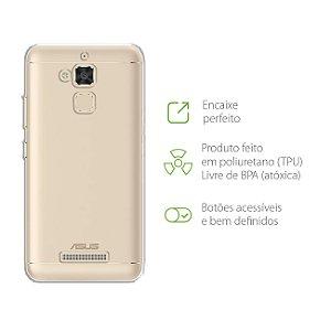 """Capa Transparente para Zenfone 3 Max - ZC520TL - 5.2"""""""