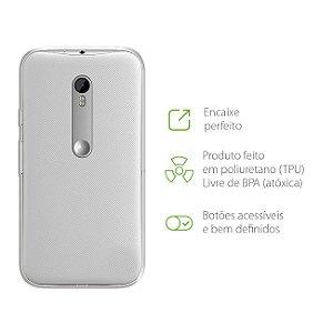 Capa Transparente para Motorola Moto G2