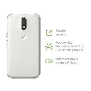 Capa Transparente para Moto G4