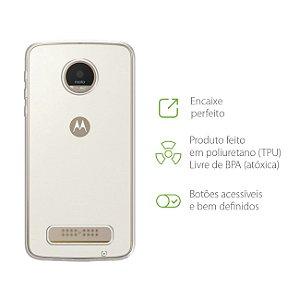 Capa Transparente para Motorola Moto Z Play