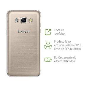 Capa Transparente para Samsung Galaxy J7 Metal