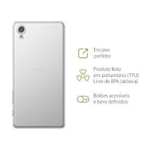Capa Transparente para Sony Xperia E5