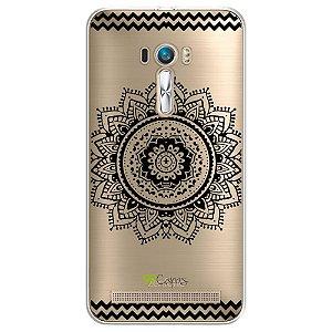 Capa Zenfone Laser - Mandala Preta