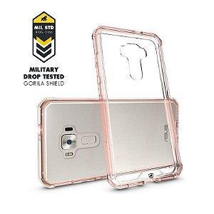 "Capa Ultra Slim Air Rosa para Asus Zenfone 3 - ZE552KL - 5.5"" Polegadas - GORILA SHIELD"